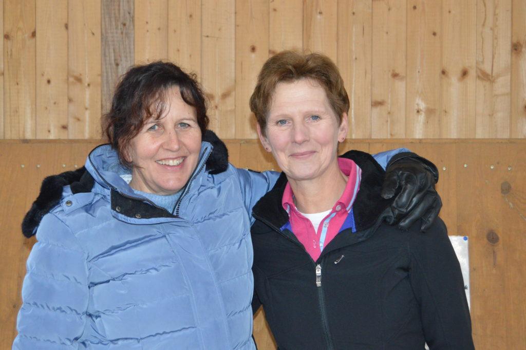 Marlies Öttigmann und Annette Börger Trainerinnen des www.integrativ-therapiereiten-boerger.de